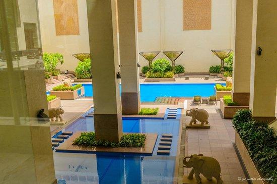 Jaipur Marriott Hotel: Pool
