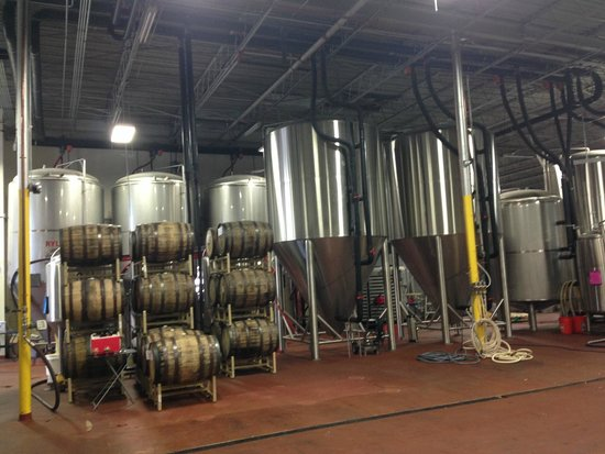 Funky Buddha Brewery: Warehouse distillery