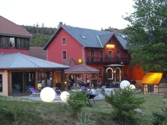 Le Velleda Hotel Restaurant : Hotel Velleda