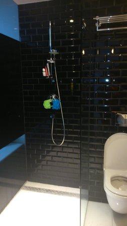 Hotel Arena : modern shower room