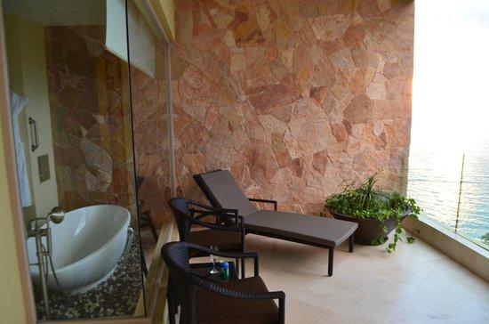Garza Blanca Preserve, Resort & Spa: Lovely terrace