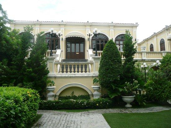 Praya Palazzo : vue de l'hôtel