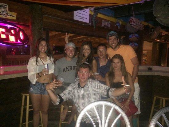 Jimmy B's Beach Bar : drinks at Jimmy b's