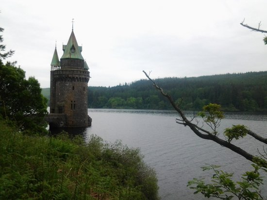 Lake Vyrnwy : tower