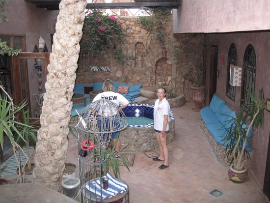 Alf Leila Boutique Hotel.: the court yard