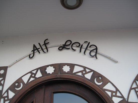 Alf Leila Boutique Hotel.: sign