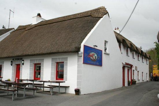 Morans Oyster Cottage : le restaurant