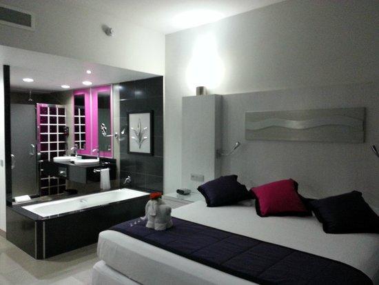Hotel Riu Palace Mexico : Suite von Richtung Balkon aus