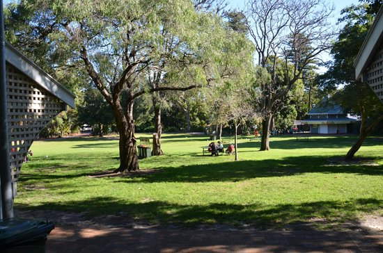 Perth Zoo : What a perfect cool sunny day for picnic or just hang out and do reading or chatting