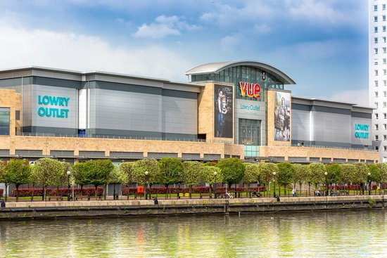 Lowry Outlet: Waterside Location Vue Cinema