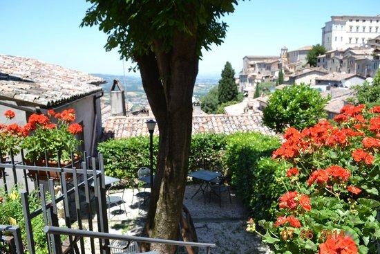 Ristorante Pizzeria Le Scalette : Panorama dal terrazzo