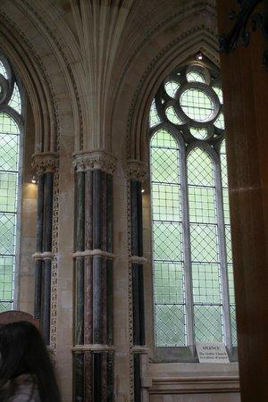 Kylemore Abbey & Victorian Walled Garden: détail de l'église