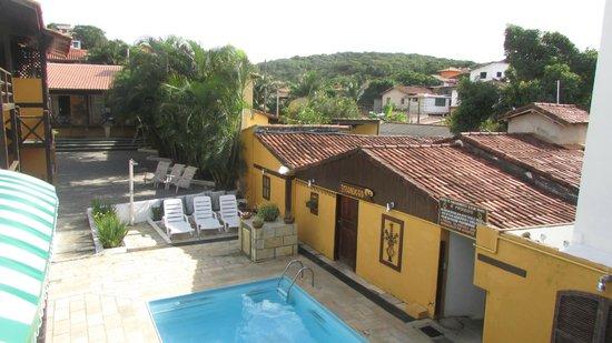 Pousada Kilandukilu: vista del patio interior