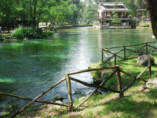Parco del Grassano: acqua dai bellissimi colori...