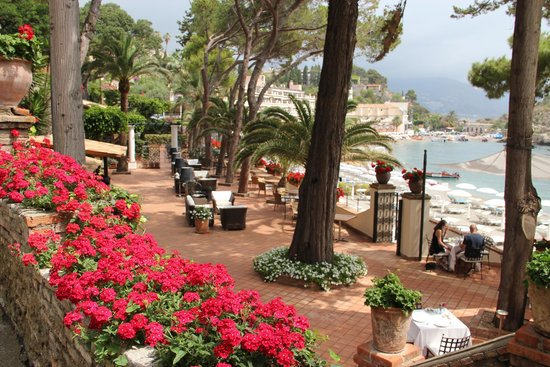 Belmond Villa Sant'Andrea: Enjoy the Negronis here!