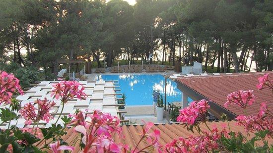 Villa Laguna Galijot: Blick von der Zimmerterrasse