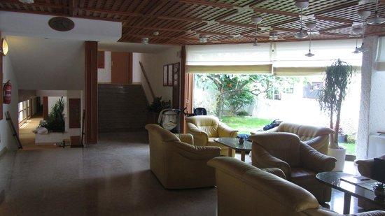 Villa Laguna Galijot: Rezeptionsbereich