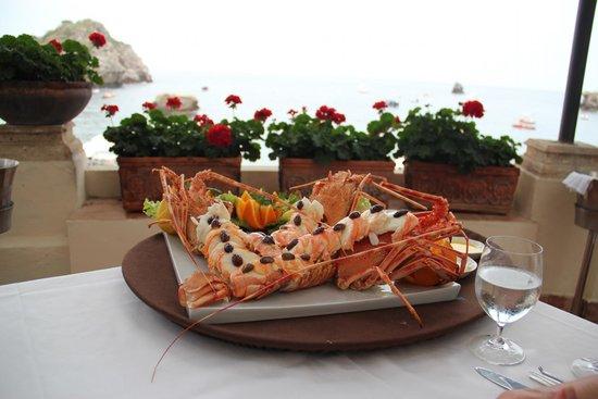 Belmond Villa Sant'Andrea: Yum, Yum!