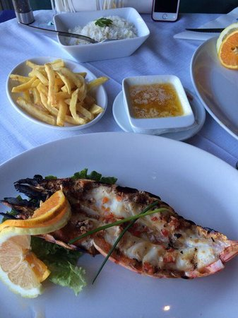 O Marisco: Jumbo tiger prawn! Delicious!!