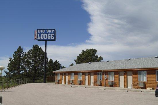 Big Sky Lodge : Here at last!