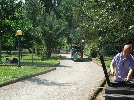 Parco del Grassano: un bel giro sul trenino