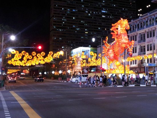 Carlton City Hotel Singapore: 2014 Year of Horse Chinatown