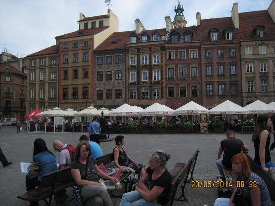 Ibis Warszawa Stare Miasto - Old Town: uma praca de Varsovia