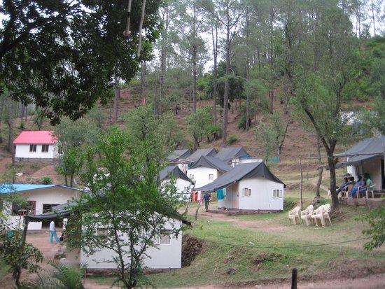 Camp Roxx: camp area