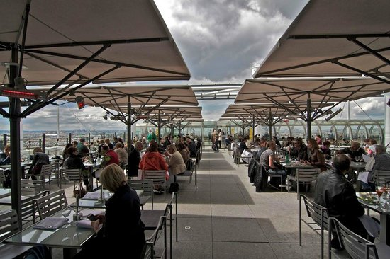 Le Georges : Outdoor Seating