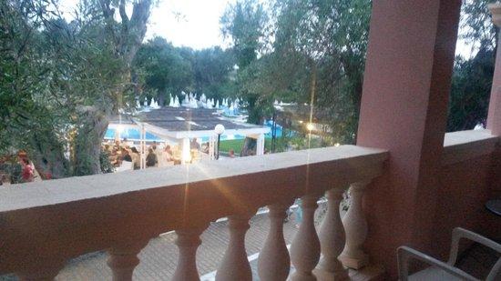 SENTIDO Apollo Palace : balcon vue