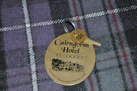 Cairngorm Hotel: room key