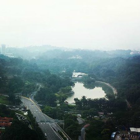 Hilton Kuala Lumpur : View from the hotel room