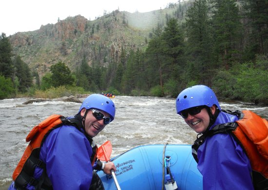 A1 Wildwater Rafting: Might have been chilly, but it didn't stop us from having a great time!