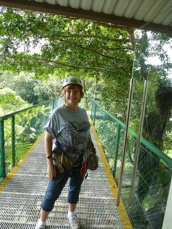 Costa Rica Sky Adventures - Arenal Park: All Suited Up