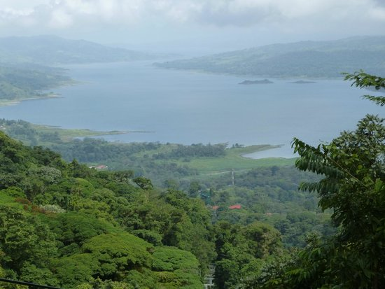 Costa Rica Sky Adventures - Arenal Park: View From Top of the Tram