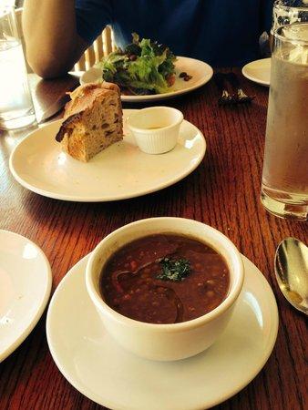 Osteria Coppa: Lentil soup