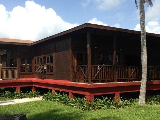 Hotel Colonial Cayo Coco : Resto pour le buffet du midi
