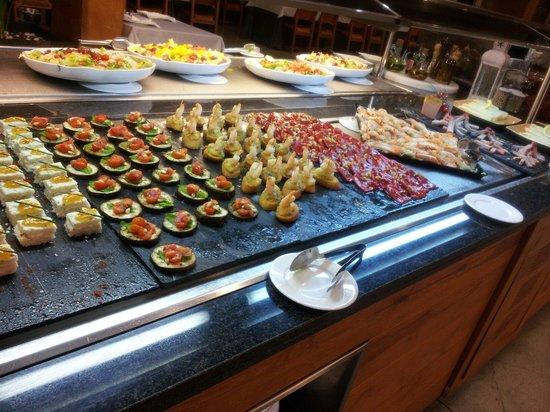 El Montanya: buffet