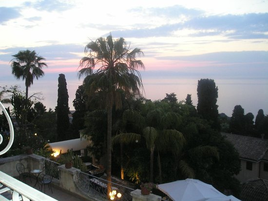 Parc Hotel Ariston & Palazzo Santa Caterina: Sonnenaufgang