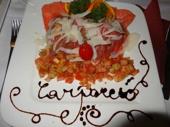 Restaurante Tosca: Le carpaccio