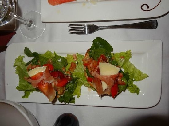 Restaurante Tosca: La Bruschetta