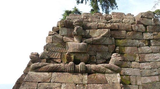 Sukuh Temple: Stone Craving