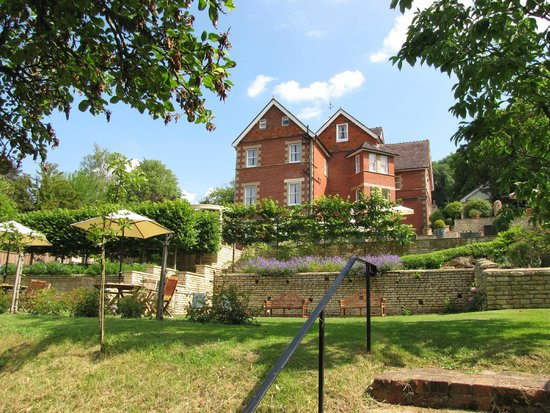 Tasburgh House Hotel Ltd: back garden