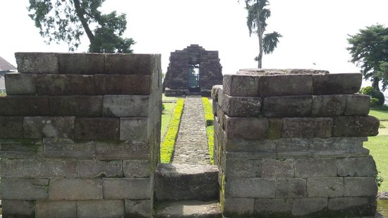 Sukuh Temple: view from top