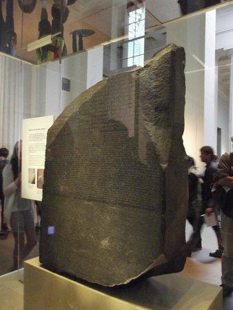 British Museum: la pierre de Rosette