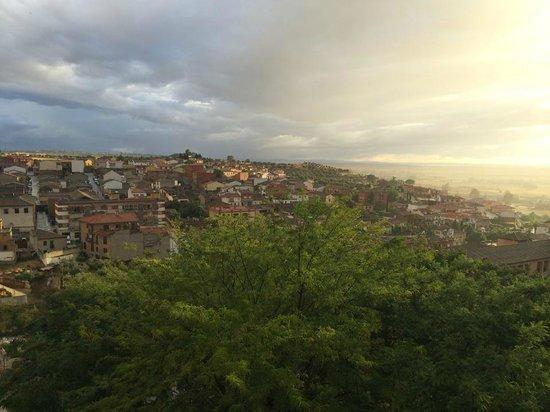 Parador de Oropesa: Vista espetacular!