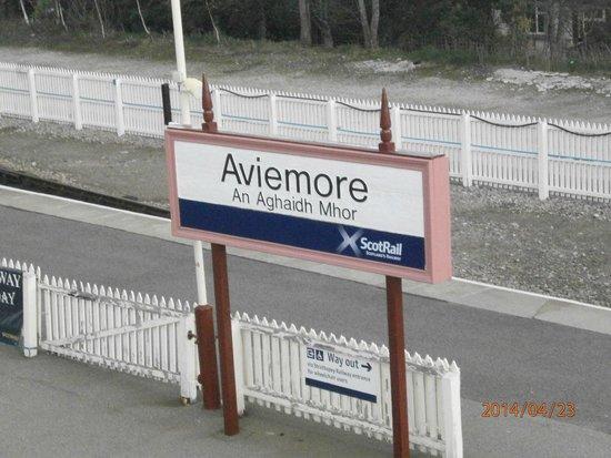 Macdonald Aviemore Hotel at Macdonald Aviemore Resort : станция