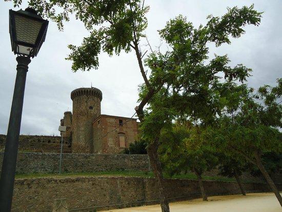 Parador de Oropesa: Jardim