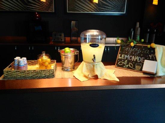 Hotel Zero Degrees: Lemonade stand