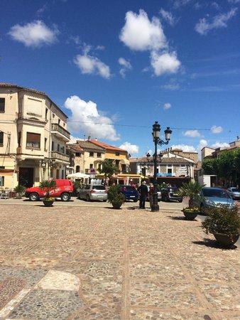 Parador de Oropesa : Praça da cidade